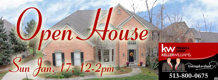 Loveland Ohio 45140 Open House Golf Course Home for Sale