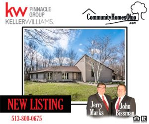 New Listing – 8849 Swigert Road, Loveland, Ohio 45140 – Gorgeous 3 Bedroom  Ranch Home on Partially Wooded 12+ Acres!